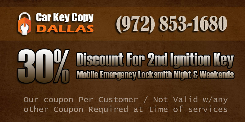 Car Key Copy Dallas Discount Coupon
